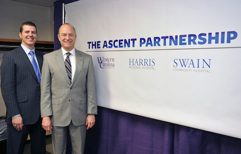 Local Hospital Partners with WCU on Scholarship Program