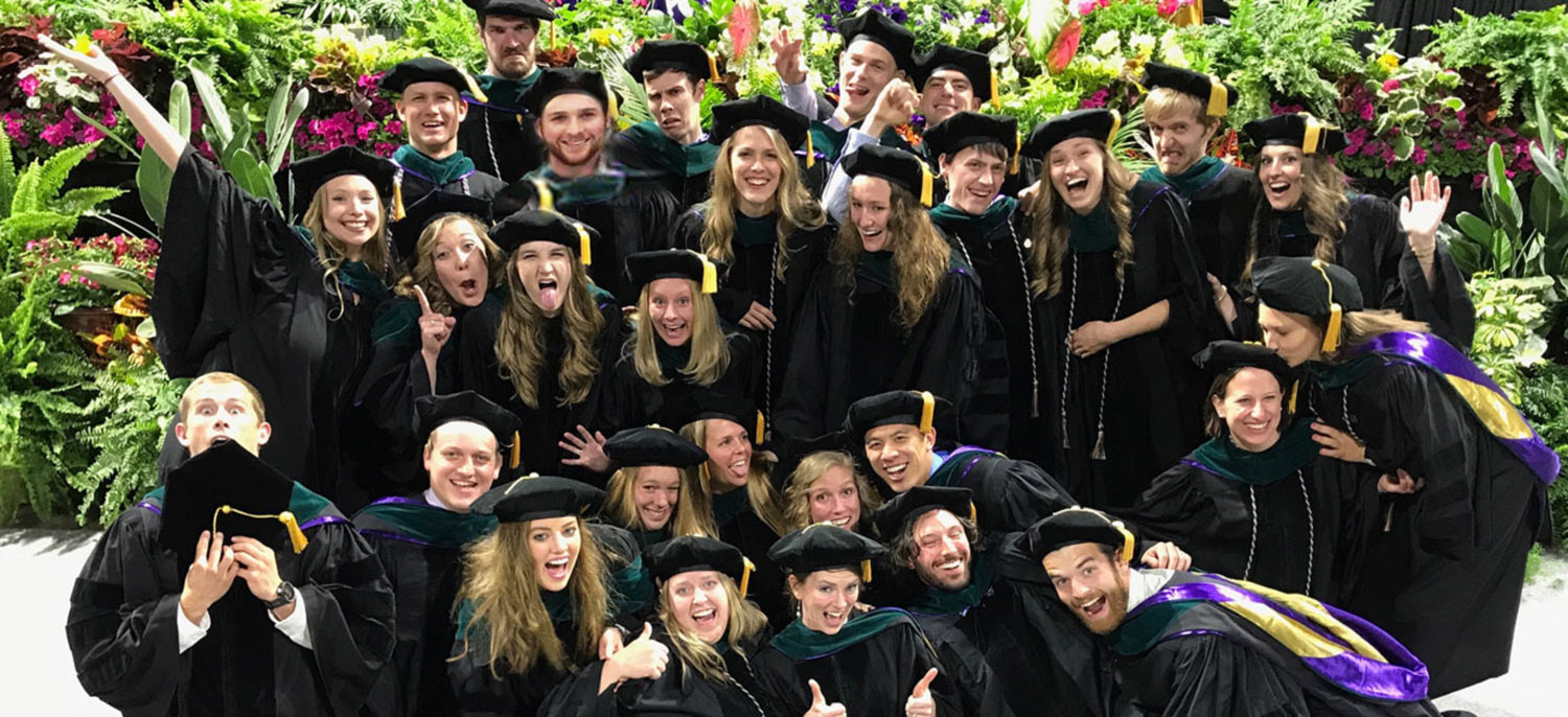 Physical Therapy Class of 2017 at Graduation